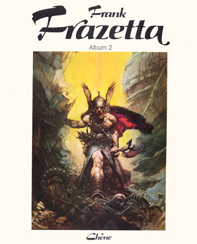 Couverture de (AUT) Frazetta -2- Album 2