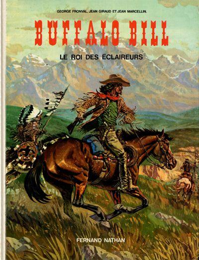 Couverture de Les grands hommes de l'Ouest - Buffalo Bill - Le roi des éclaireurs