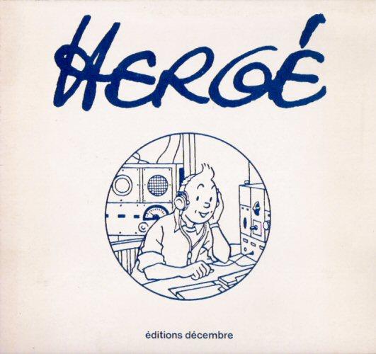 Couverture de (AUT) Hergé -0CD- Hergé, le livre-cassette