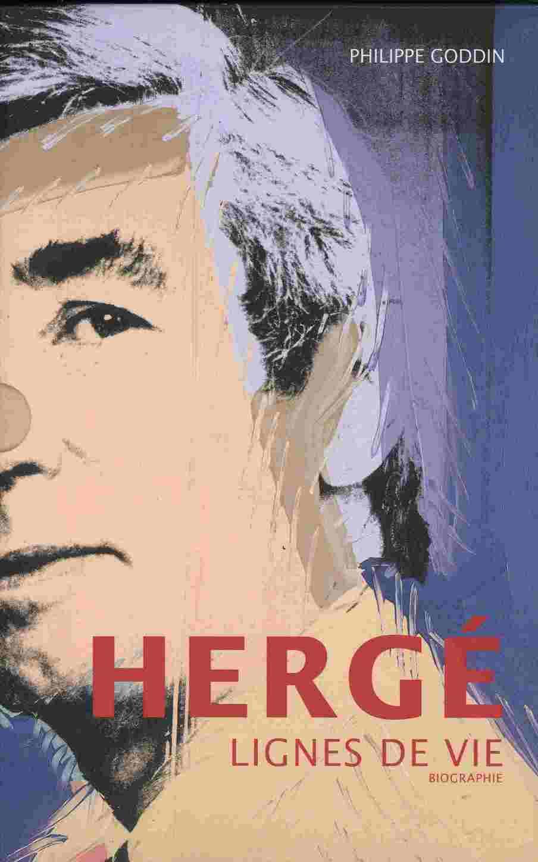 Couverture de (AUT) Hergé -134- Hergé : lignes de vie