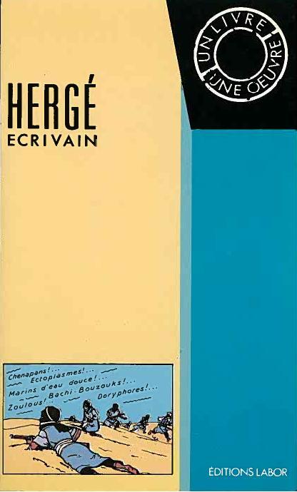 Couverture de (AUT) Hergé -66- Hergé écrivain