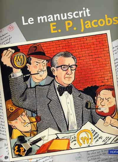 Couverture de (AUT) Jacobs, Edgar P. -14- Le manuscrit E. P. Jacobs