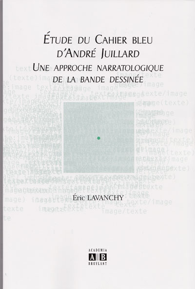 Couverture de (AUT) Juillard - Étude du Cahier bleu