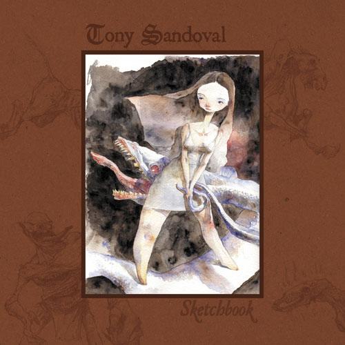 Couverture de (AUT) Sandoval, Tony - Sketchbook