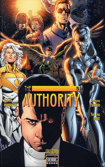 Couverture de Authority (The) (Semic) -INT05- The Authority N° 5