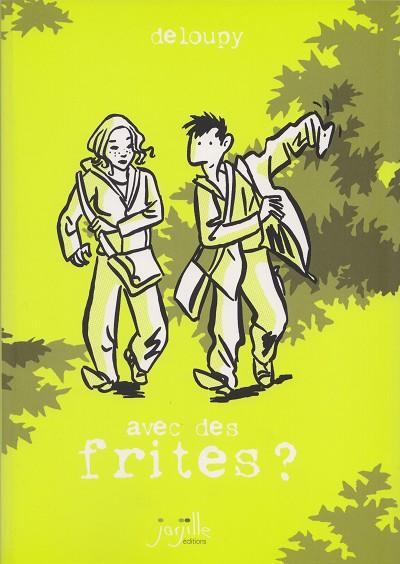 Couverture de Journal approximatif - Avec des frites ?