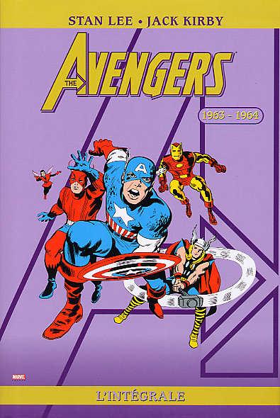 Couverture de Avengers (The) (L'intégrale) -1- L'intégrale 1963-1964
