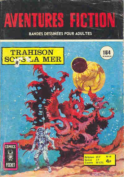 Couverture de Aventures fiction (2e série) -48- Trahison sous la mer