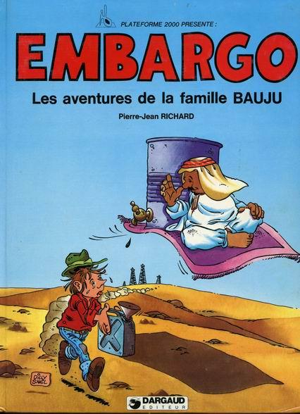 Couverture de Les aventures de la famille Bauju - Embargo