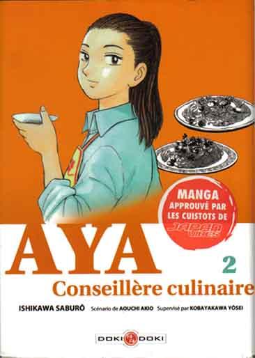 Couverture de Aya conseillère culinaire -2- Tome 2