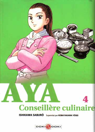 Couverture de Aya conseillère culinaire -4- Tome 4