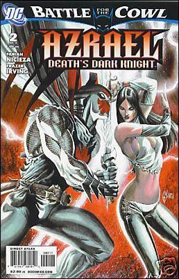 Couverture de Azrael: Death's Dark Knight (2009) -2- Book 2 : give and take