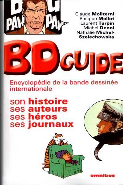 Couverture de (DOC) Encyclopédies diverses -22003- BD Guide - Encyclopédie de la bande dessinée internationale