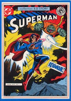 Couverture de Superman - Collection BD Story -1- Superman - Revanche