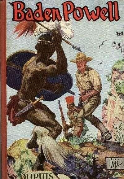 Couverture de Baden Powell (Jijé) -INT02- Baden Powell