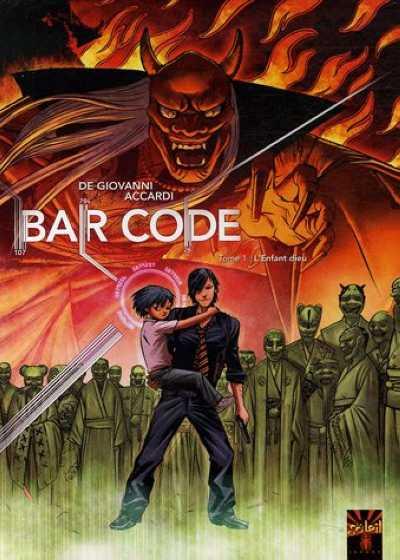 Couverture de Bar Code -1- L'Enfant Dieu