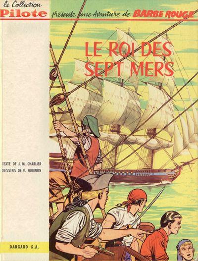 Couverture de Barbe-Rouge -2- Le Roi des Sept Mers