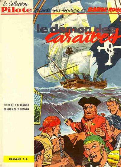 Couverture de Barbe-Rouge -1- Le démon des Caraïbes