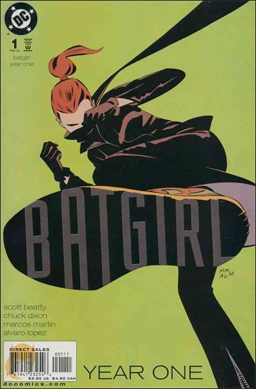 Couverture de Batgirl Year One (2003) -1- Masquerade