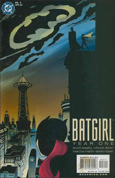 Couverture de Batgirl Year One (2003) -3- After glow