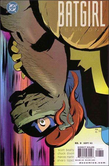 Couverture de Batgirl Year One (2003) -8- Seasoned crime fighter