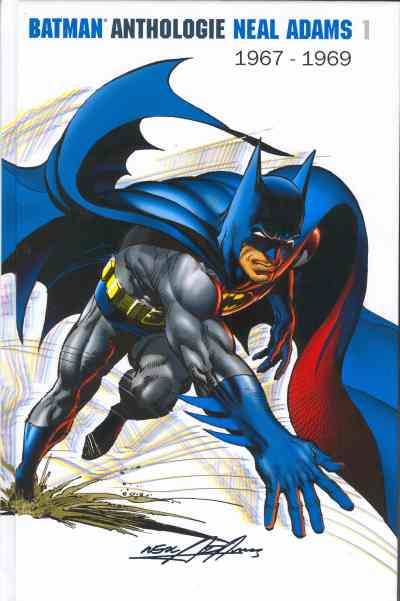 Couverture de Batman Anthologie Neal Adams -INT01- Neal Adams : 1967-1969
