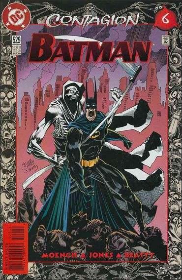 Couverture de Batman (1940) -529- Contagion part 6 : tears of blood