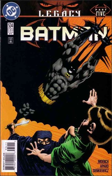 Couverture de Batman Vol.1 (DC Comics - 1940) -534- Legacy part 5 : a wound on the heart of heaven