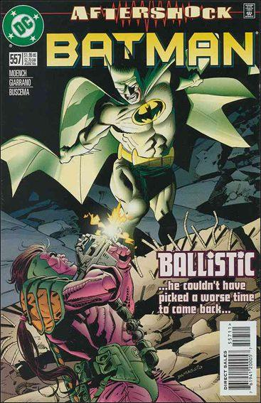 Couverture de Batman Vol.1 (DC Comics - 1940) -557- Ballistic's evidence