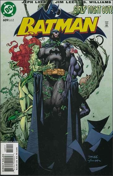 Couverture de Batman Vol.1 (DC Comics - 1940) -609- Hush part 2 : the friend