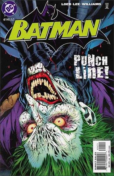 Couverture de Batman Vol.1 (DC Comics - 1940) -614- Hush part 7 : the joke