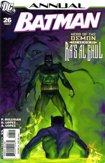 Couverture de Batman Vol.1 (DC Comics - 1940) -AN26- Annual 26: Resurrection shuffle