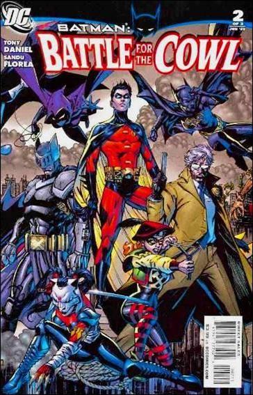 Couverture de Batman: Battle for the Cowl (2009) -2- Army of one
