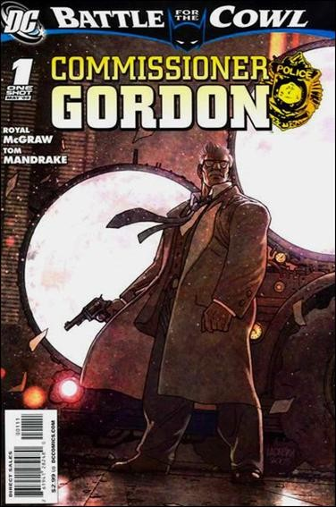 Couverture de Batman: Battle for the Cowl (2009) -OS- Commissionner Gordon : A cold day in hell