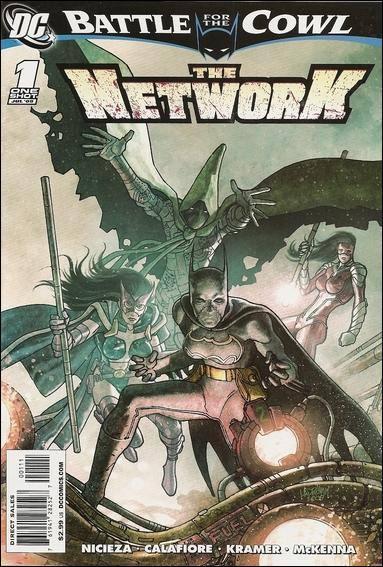 Couverture de Batman: Battle for the Cowl (2009) -OS- The network