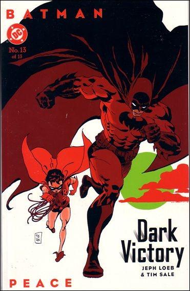 Couverture de Batman: Dark Victory (1999) -13- Peace