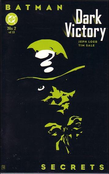 Couverture de Batman: Dark Victory (1999) -2- Secrets
