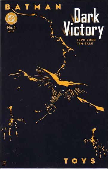 Couverture de Batman: Dark Victory (1999) -3- Toys