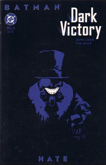 Couverture de Batman: Dark Victory (1999) -6- Hate