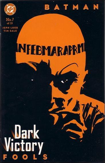 Couverture de Batman: Dark Victory (1999) -7- Fools
