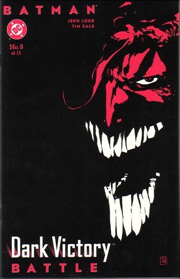 Couverture de Batman: Dark Victory (1999) -8- Battle