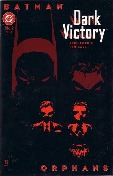 Couverture de Batman: Dark Victory (1999) -9- Orphans