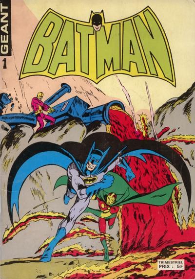 Couverture de Batman Géant (Sagédition - 3e série) -1- Requiem pour un grand flic