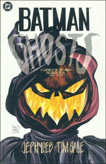 Couverture de Batman: Legends of the Dark Knight (1989) -HS3- Ghosts : a tale of halloween in gotham city