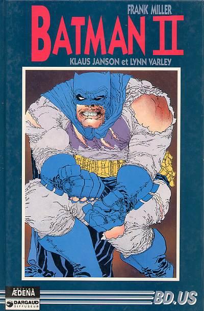 Couverture de Batman - Dark Knight -2- La Battue et la Chute