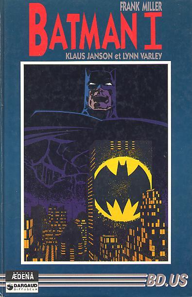 Couverture de Batman - Dark Knight -1- Le Retour et le Triomphe