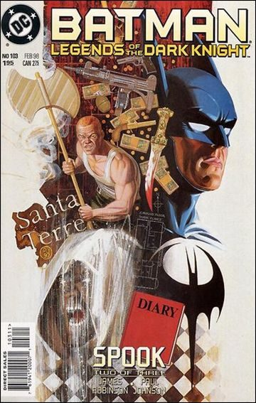 Couverture de Batman: Legends of the Dark Knight (1989) -103- Spook part 2