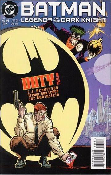 Couverture de Batman: Legends of the Dark Knight (1989) -105- Duty part 1