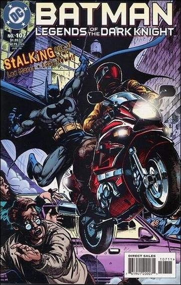 Couverture de Batman: Legends of the Dark Knight (1989) -107- Stalking part 1