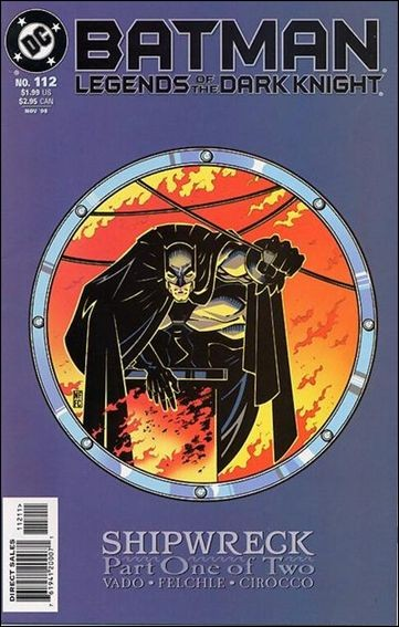 Couverture de Batman: Legends of the Dark Knight (1989) -112- Shipwreck part 1